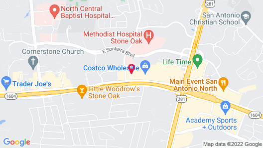 La Quinta Inn & Suites by Wyndham San Antonio N Stone Oak Map