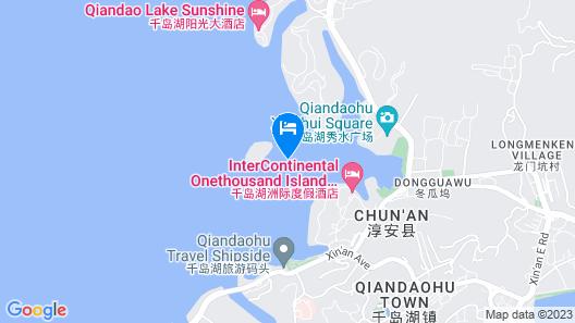 InterContinental One Thousand Island Lake Resort, an IHG Hotel Map