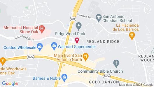 Courtyard by Marriott San Antonio North/Stone Oak at Legacy Map