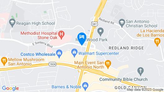 Hyatt Place San Antonio–North/Stone Oak Map