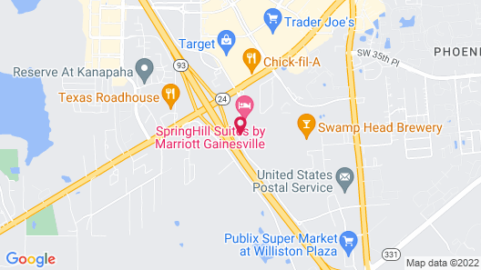 Hampton Inn Gainesville Map