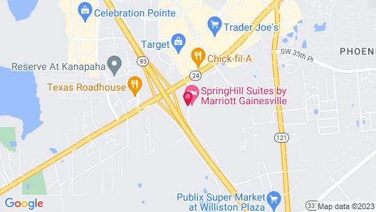 Super 8 by Wyndham Gainesville Map