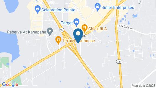 Drury Inn & Suites Gainesville Map