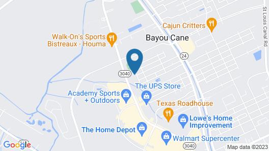 Holiday Inn Houma, an IHG Hotel Map