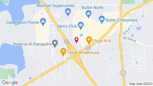 Courtyard by Marriott Gainesville Map