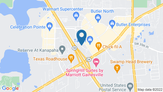 Red Roof Inn PLUS+ Gainesville Map