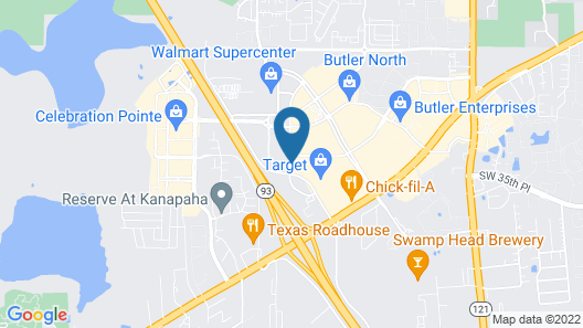 Homewood Suites by Hilton Gainesville Map