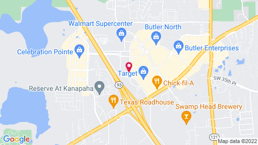 Holiday Inn Express & Suites Gainesville I-75, an IHG Hotel Map