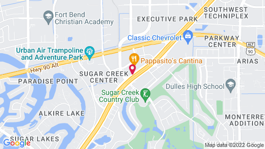 Drury Inn & Suites Houston Sugar Land Map