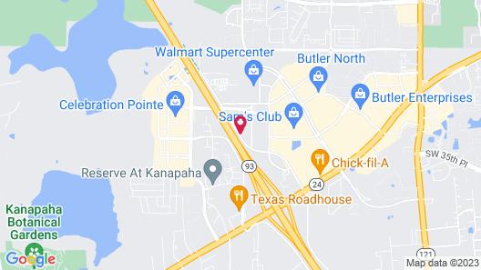 Residence Inn by Marriott Gainesville I-75 Map