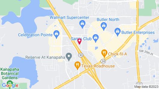 Staybridge Suites Gainesville I-75, an IHG Hotel Map
