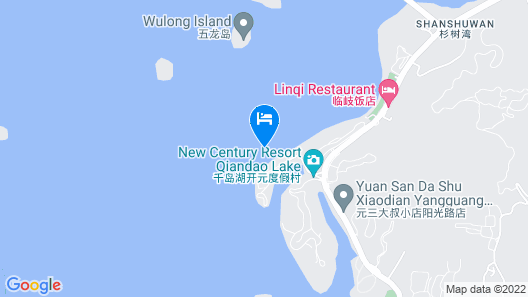 New Century Resort Qiandao Lake Hangzhou Map
