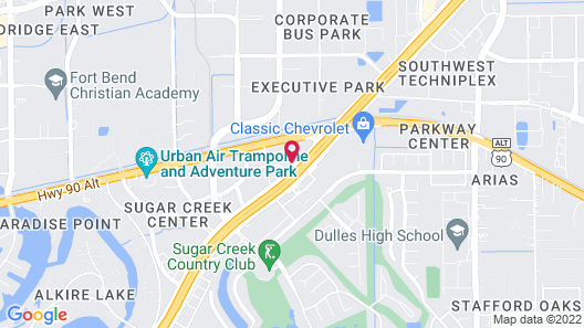 Extended Stay America - Houston - Sugar Land Map