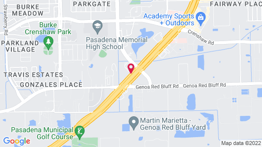 Home2 Suites by Hilton Houston Pasadena Map