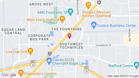 La Quinta Inn & Suites by Wyndham Houston Stafford Sugarland Map