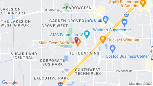 Home2 Suites by Hilton Houston Stafford Map
