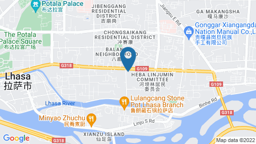 Four Points by Sheraton Lhasa Map