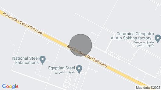 Cozy Studio in Ain Sukhnwell Furnished Map