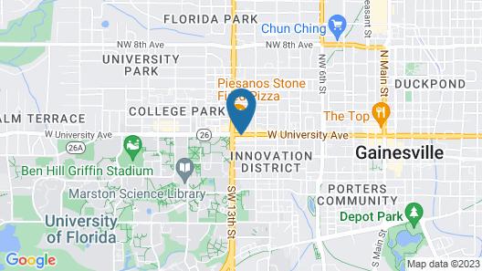 Holiday Inn Gainesville - University Center, an IHG Hotel Map