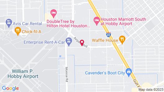 Travelodge by Wyndham Houston Hobby Airport Map