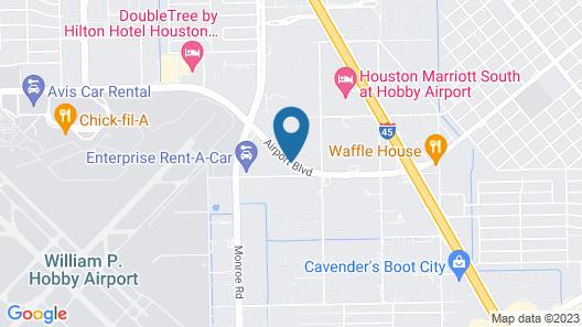 Howard Johnson by Wyndham Houston Map