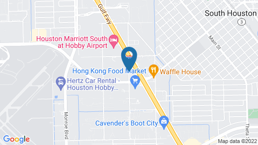 SpringHill Suites Houston Hobby Airport Map