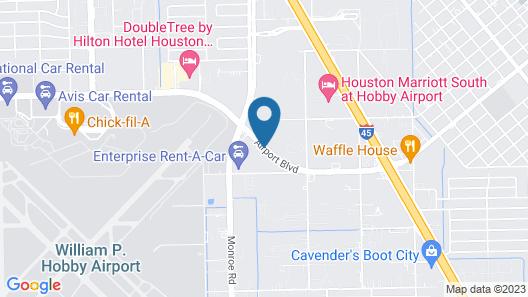La Quinta Inn & Suites by Wyndham Houston Hobby Airport Map