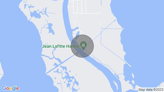 Executive Houseboat - Jean Lafitte Harbor Map