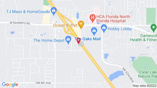 Baymont by Wyndham Gainesville Map