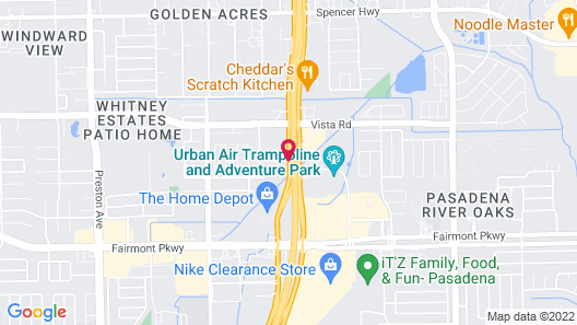 Fairfield Inn & Suites by Marriott Houston Pasadena Map