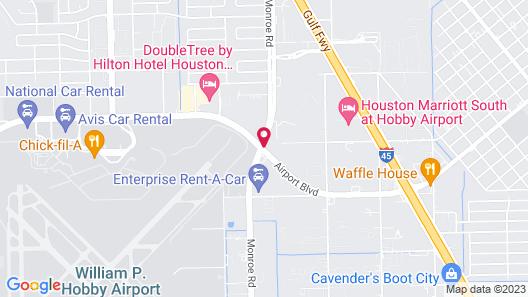 Holiday Inn Houston Hobby Airport, an IHG Hotel Map