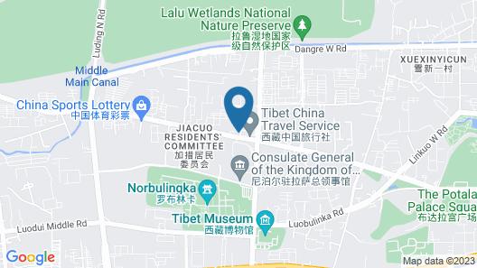 Holiday Inn Express Lhasa Potala Palace, an IHG Hotel Map