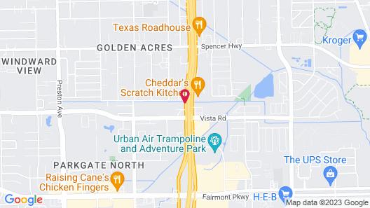 Candlewood Suites Houston - Pasadena, an IHG Hotel Map