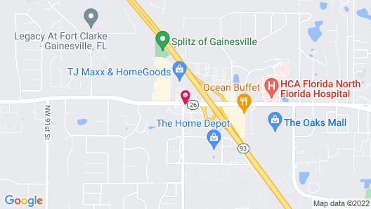 TownePlace Suites by Marriott Gainesville Northwest Map