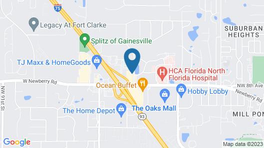 La Quinta by Wyndham Gainesville Map