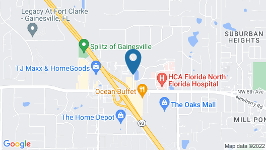 Days Inn by Wyndham Gainesville University I-75 Map
