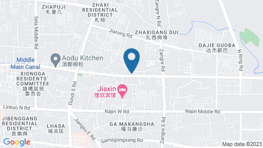 Taicheng Hotel Tibet Map