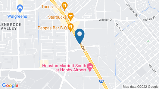 Fairfield Inn & Suites by Marriott Houston Hobby Airport. Map