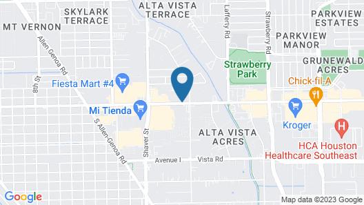 Days Inn & Suites by Wyndham Pasadena Map