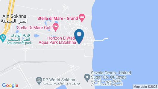Horizon El Wadi Hotel Map