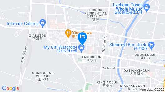 Huaxin International Hotel - Ningbo Map