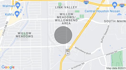 Galleria/nrg/med Centre Map