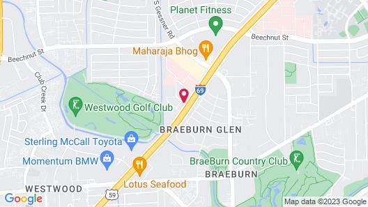 Crowne Plaza Suites Houston - Near Sugar Land Map