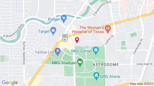 Holiday Inn Houston S - Nrg Area - Medical Center Map