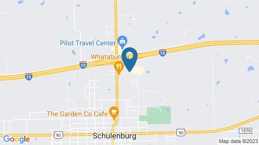 Holiday Inn Express Hotel & Suites Schulenburg, an IHG Hotel Map