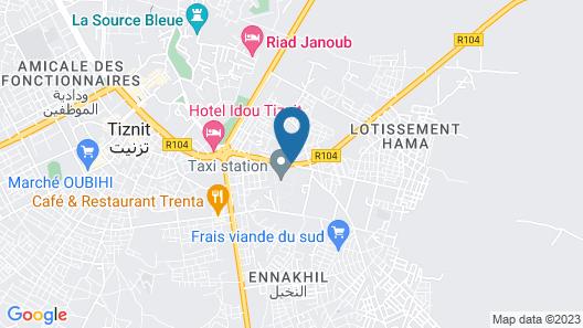 Hôtel Afoulki Map