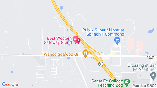 Best Western Gateway Grand Map