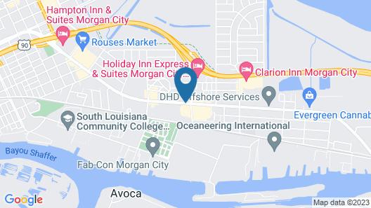 Red Roof Inn Morgan City Map