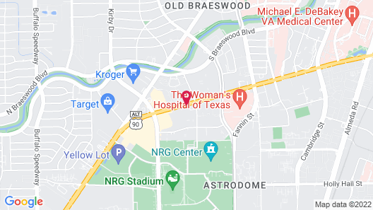 SpringHill Suites Houston Medical Center/NRG Park Map