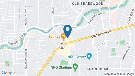 Residence Inn by Marriott Houston Medical Center/NRG Park Map